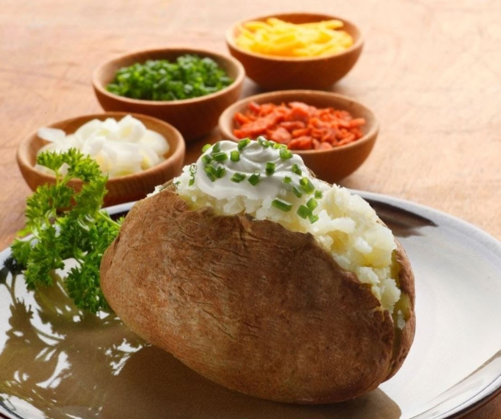 potato bar for catering events